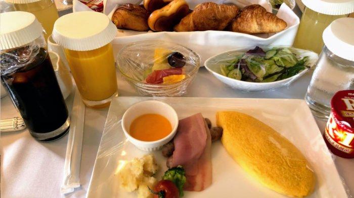 食べたい-ミラコスタのルームサービス(朝食/サンドイッチ/カレー)2021